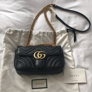 eb5a116b1842 Gucci Bags | Gg Marmont Matelasse Mini Bag | Poshmark